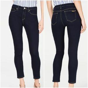 Michael Kors Woman Blue Jeans Size 2 Selma Skinn